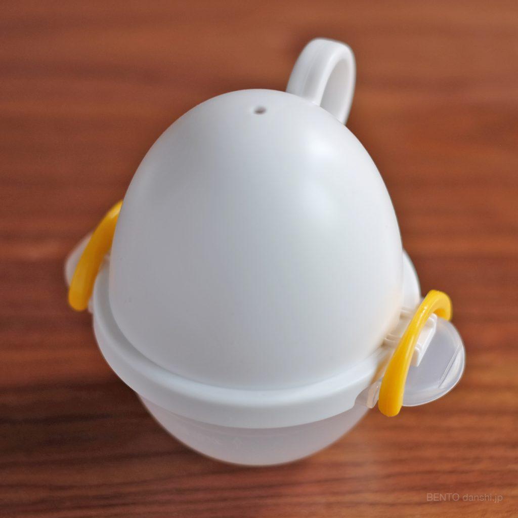 曙産業の『ez egg レンジでゆで卵 EZ-280』。この子が今回の鍵を握っています。