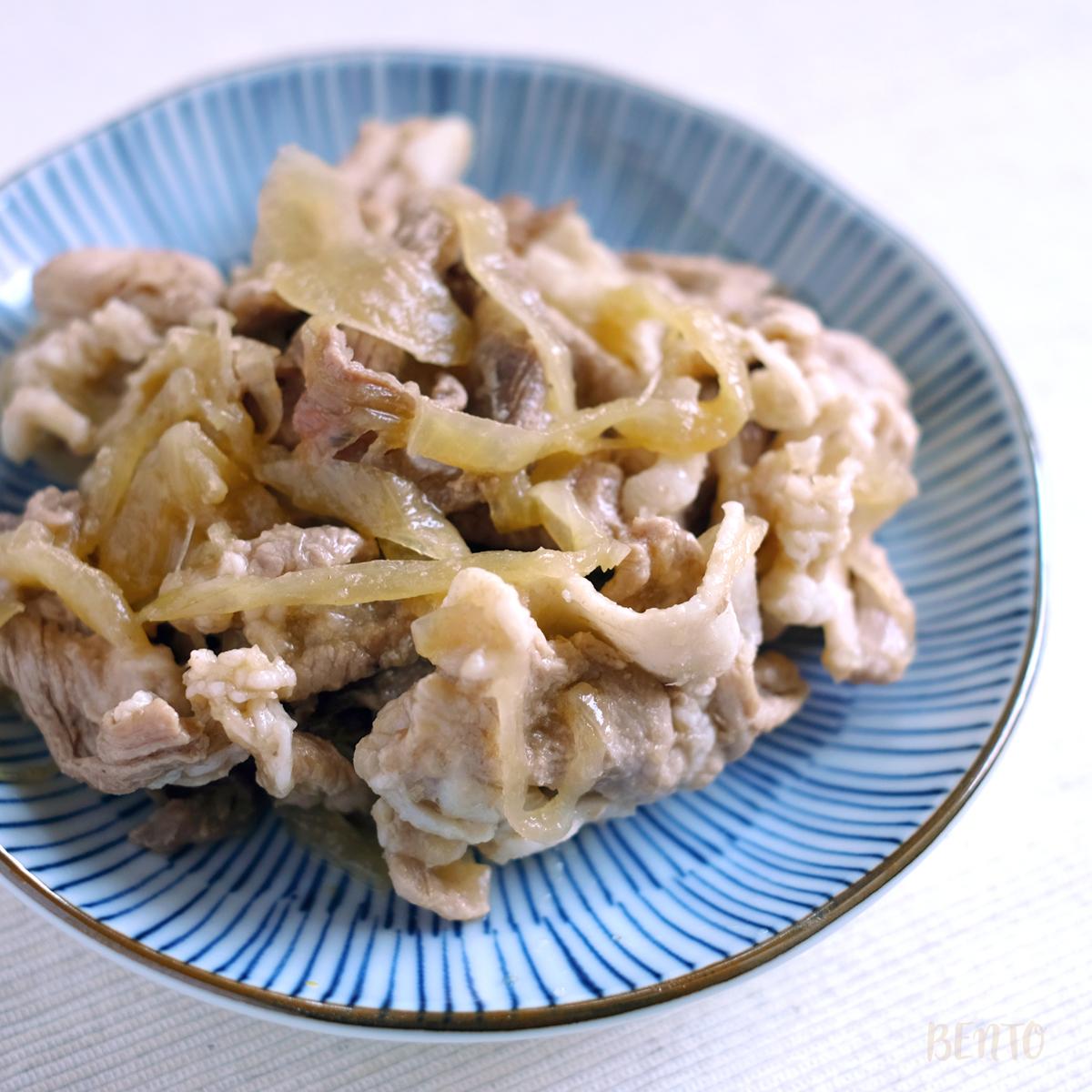 生姜焼きもチューブで簡単!安くて美味しい『豚こま切れ肉の生姜焼き』の作り方。弁当作り置き・常備菜のメインおかず、定番レシピに。