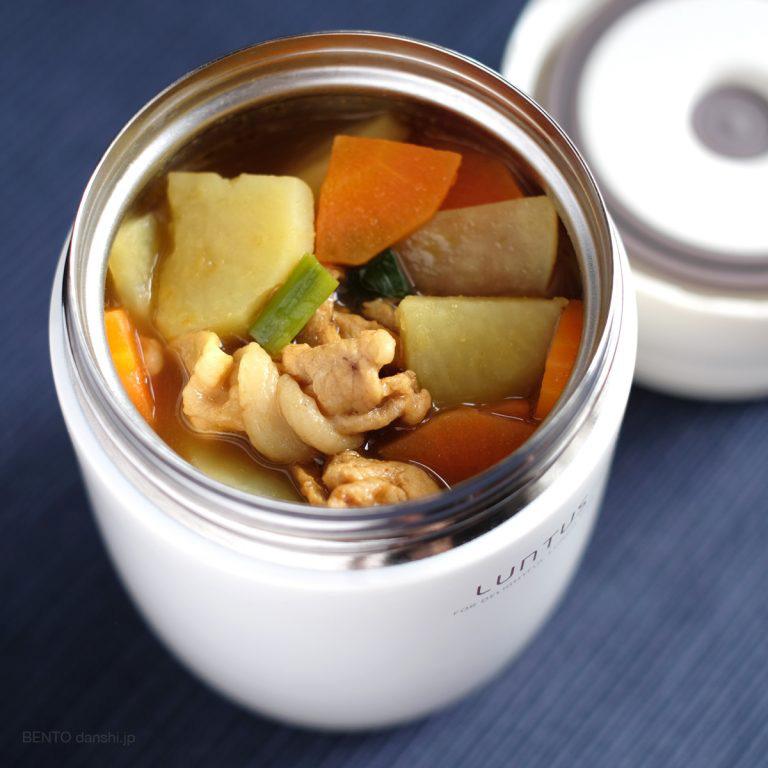 調理5分の簡単節約レシピ、具沢山和風スープカレージャー