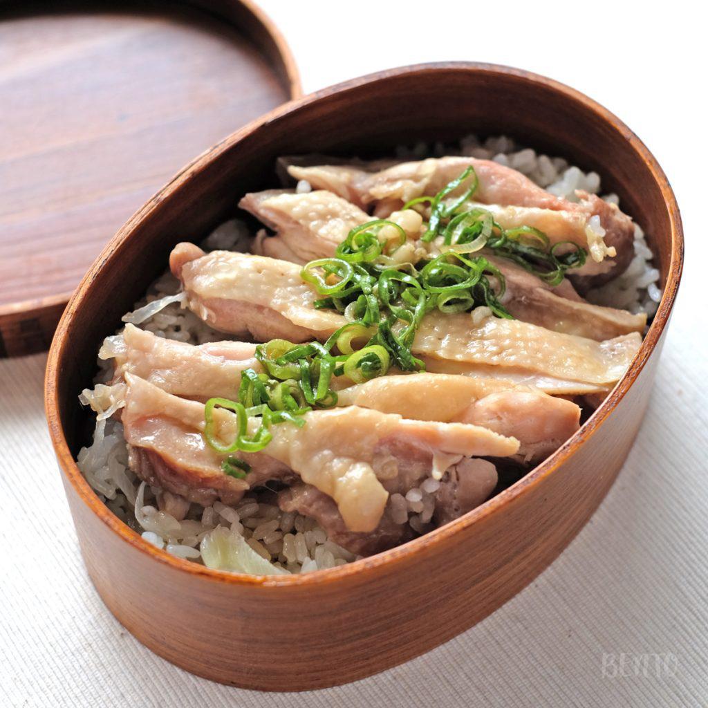 カオマンガイの一品弁当。簡単に作れて本格的なカオマンガイのレシピ。