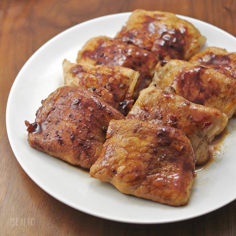 豚肉のチーズ包みソテー