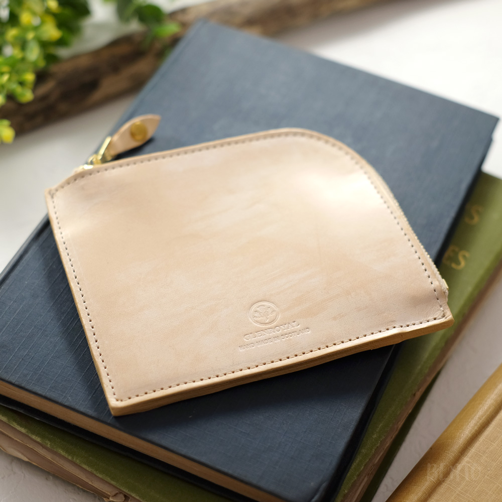 グレンロイヤルのZIP MINI PURSEミニ財布を購入しました。GLENROYAL / グレンロイヤル