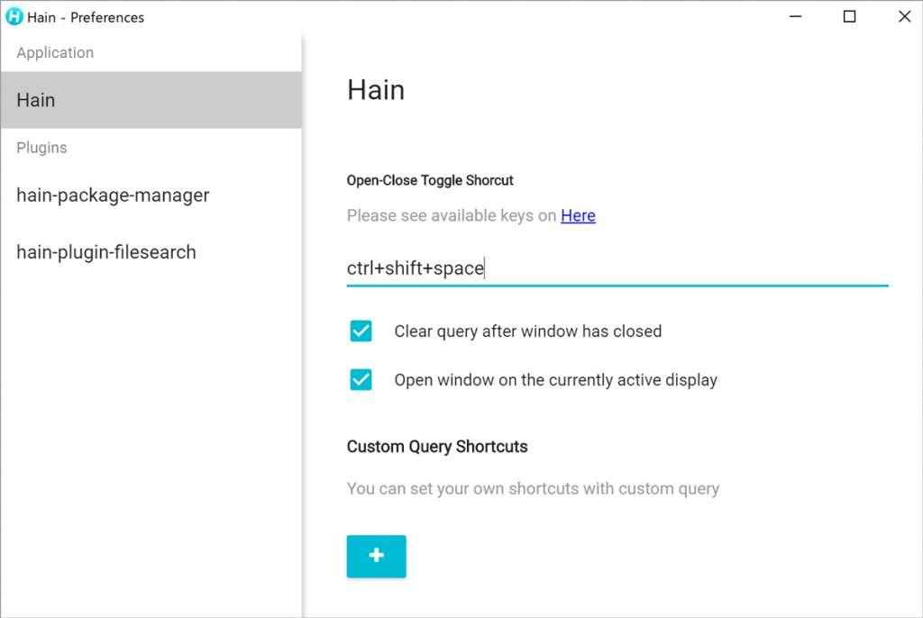 シンプルなUIが◎ Windows ランチャーアプリ『Hain』がAlfredっぽくて良い感じ。
