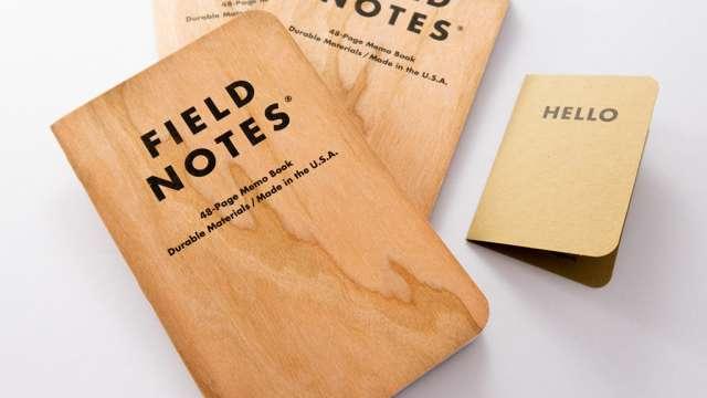 【レビュー】表紙が本物の木!FIELD NOTESが届きました。