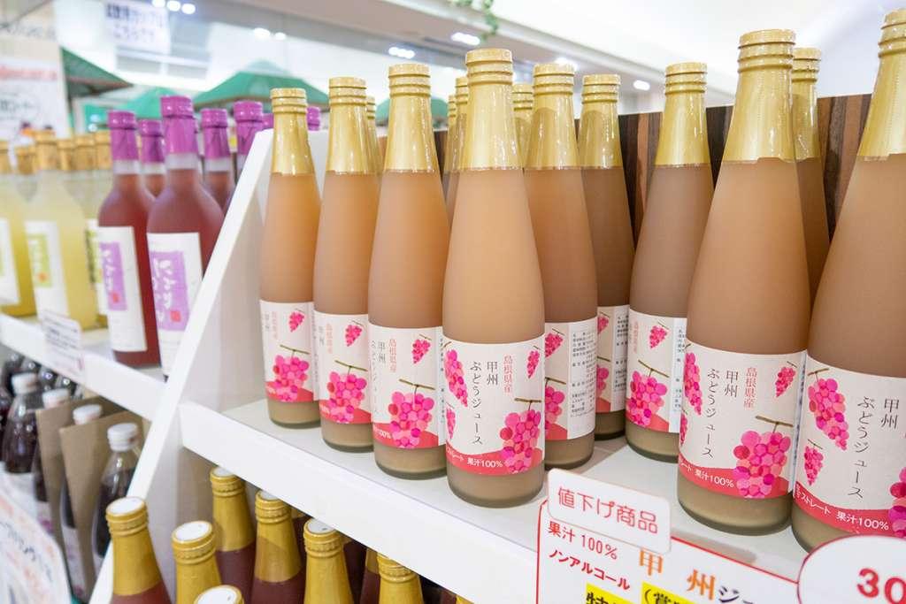 島根ワイナリー 試飲卸売館バッカス 島根県産 甲州ぶどうジュース