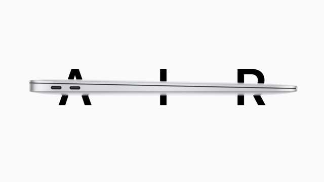 2018最新 MacBook Air 13インチと、歴代MacBook 12インチ(2017 2016 2015 )の比較。