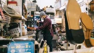 大阪梅田の靴修理・靴磨き屋さんなら「デッキ」さんがいいと思う話。