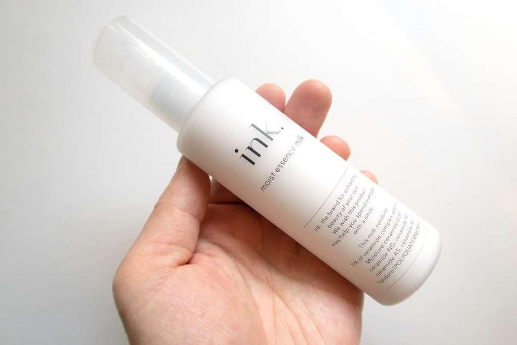 ink.(インク)の化粧水・乳液が良い感じ。メンズのスキンケアにも安心して使えるink.。