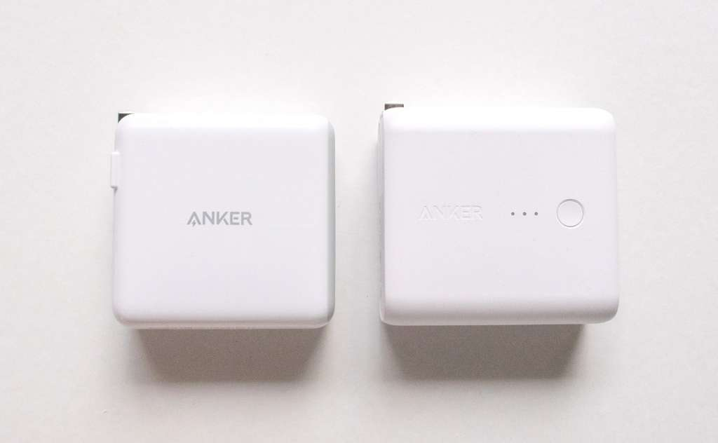 Anker PowerPort  2 PD と Anker PowerCore Fusion 5000 の比較
