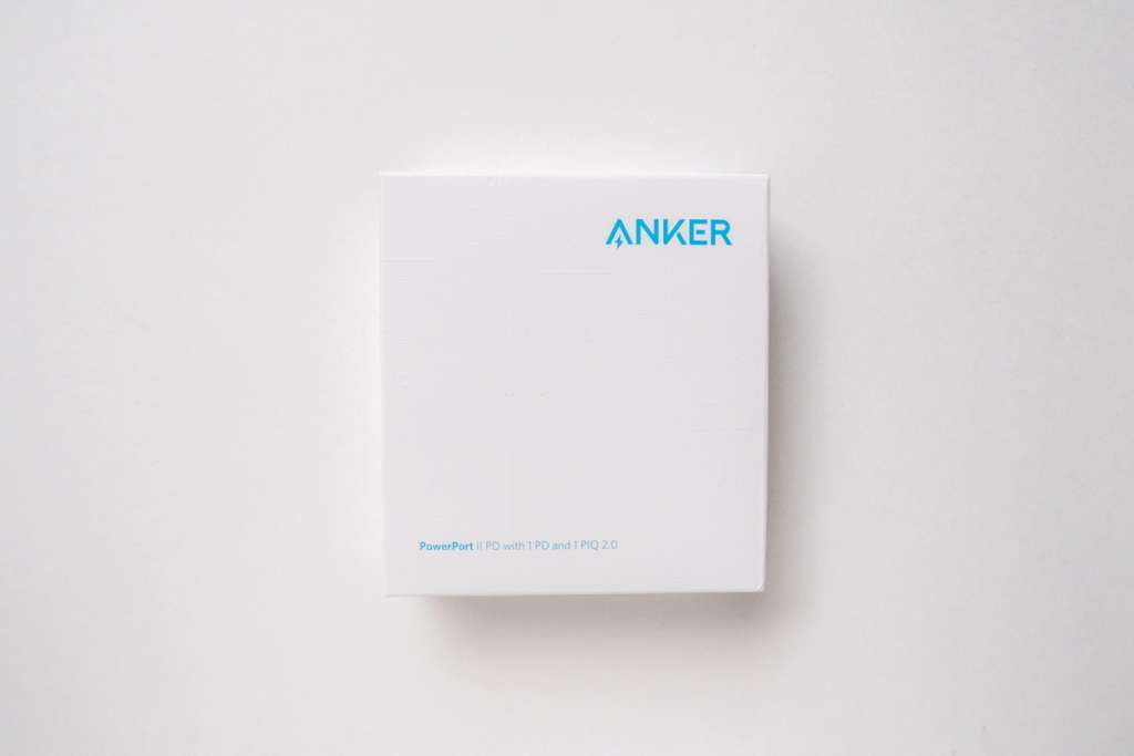 Anker PowerPort 2 PDのパッケージ