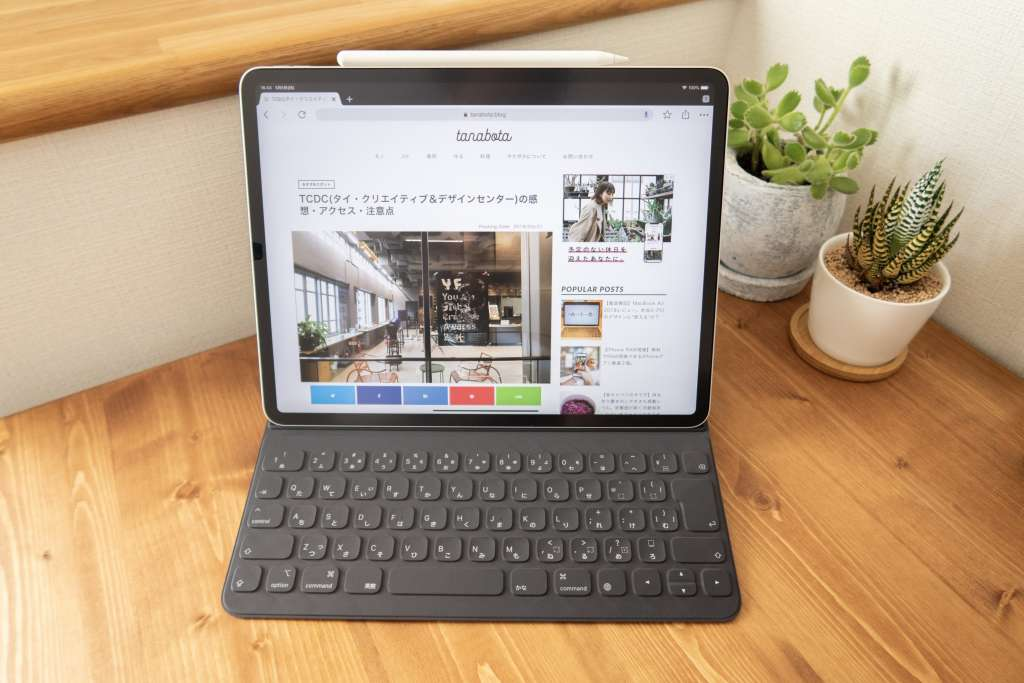 iPad Pro 12.9インチ フル装備(Apple Pencil、Smart Keyboard Folio)